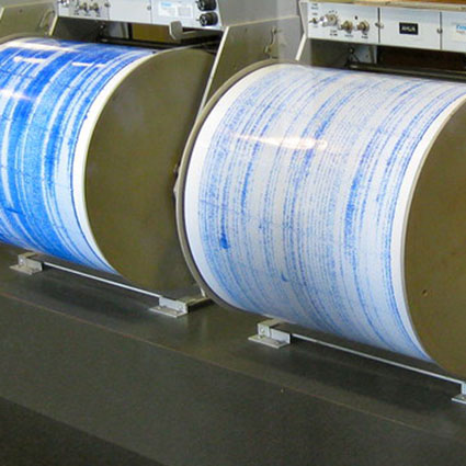 """""""Volcanoes' Seismographs"""" by Rosa Say is licensed under CC BY-NC-ND 2.0"""