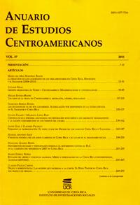 Anuario de Estudios Centroamericanos (Vol. 37, 2011)