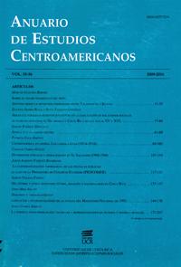 Anuario de Estudios Centroamericanos (Vol. 35-36, 2009-2010)