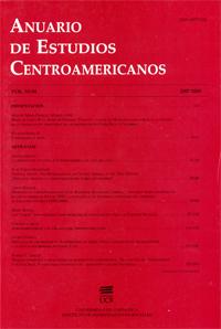 Anuario de Estudios Centroamericanos, Vol. 33-34 (2009-2010)