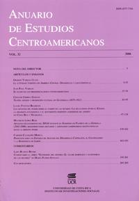 Anuario de Estudios Centroamericanos, Vol. 32 (2006)