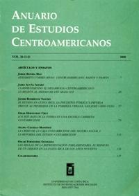 Anuario de Estudios Centroamericanos, Vol. 26 (2000)