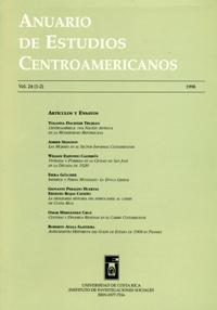 Anuario de Estudios Centroamericanos, Vol. 24 (1998)